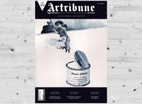 """Massimiliano Tonelli, direttore della testata """"ARTRIBUNE"""", migliore giornalista culturale italiano dell'anno."""