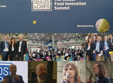 "Fuoco AgriCultura nell'ambito di ""Seeds&Chips"""